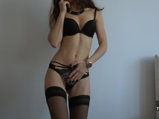 Hot Babe Stripping Just For You 4K