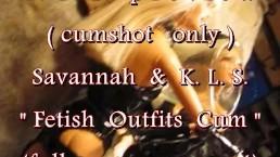 """B.B.B.preview: Savannah & K.L.S. """"Fetish Cum Shot(glass)"""" NoSloMo AVI highd"""