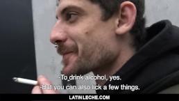 LatinLeche - Fucking A Straight Stud On The Street