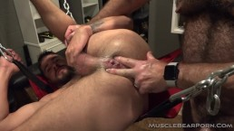 Daddy Will makes Sean's hole bloom like a slimy wet rose