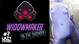 Widowmaker From Overwatch Masturbates In The Shower - LazyCookies Amateur