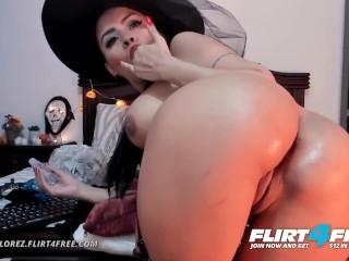 Nana florez on flirt4free bends over spreading ass...