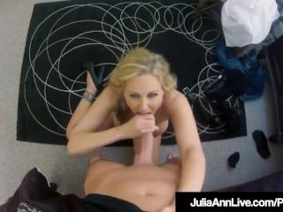Spy Cam Milf Julia Ann Recorded Banging With Hidden Camera!