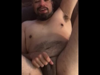 Dominate tatted latino cums inside