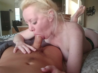 Sucking Cock First Thing in the Morning