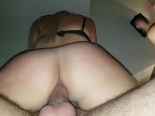 Amazing Amateur homemade latina big ass hardcore anal fucking