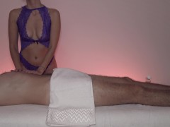 Hot GF Gives A Relaxing Massage That Ends With A Creampie - MASSAGE2018