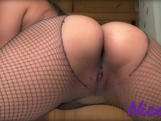 Teen Insert Butt Plug by Herself- The First Time - Tight Ass
