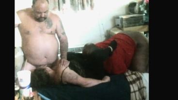 Husband Eats strangers cum out of wife after a tag team accomplishment WOW