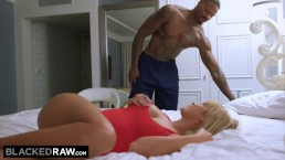 BLACKEDRAW Out Of Town Curvy Teen Gets Dominated By BBC