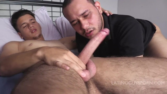Old gay men sucking young cock Latin papi italo sucking and rimming on young lating ass and cock