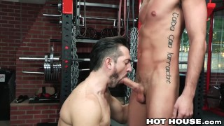 HotHouse Skinny Muscle Daddy Likes Getting Dicked At The Gym Amateur huge