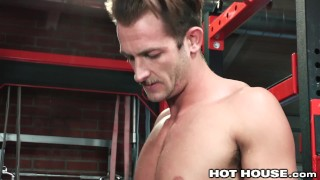 HotHouse Skinny Muscle Daddy Likes Getting Dicked At The Gym Boy toned