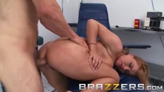 BRAZZERS - Naughty Nurse Krissy Lynn loves anal
