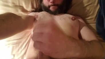 First self facial (mostly beard)
