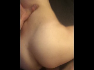Tight 18 yo Blonde Teen Loving Big Dick Pounding her Pussy until squirt/cum