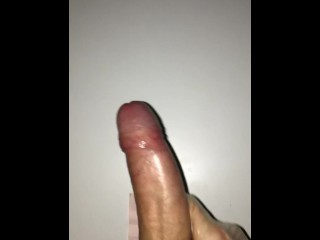 Young hard oiled dick