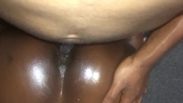 Girlfriend taking all the BBC