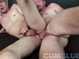 Cumclub young pup raw 1...