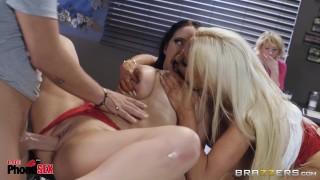 Brazzers - 1800 Phone Sex - Talking dirty - Nicolette Shea, Angela White