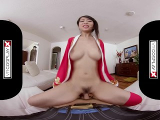 VRCosplayX.com XXX Cosplay ASIAN BABES Compilation In POV Virtual Reality