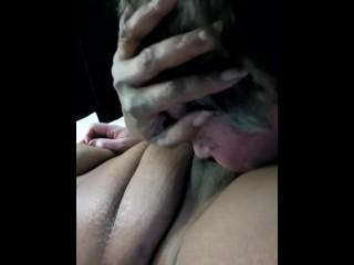 Mature man enjoying a tasty...