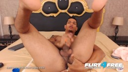 Cristian Velez on Flirt4Free - Dominating Latino Plays w Ass and Big Cock