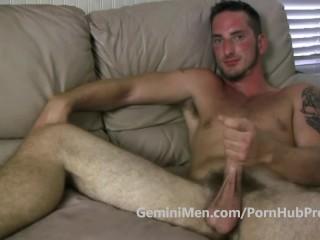Gm hot hairy hunky 23 yo first video...