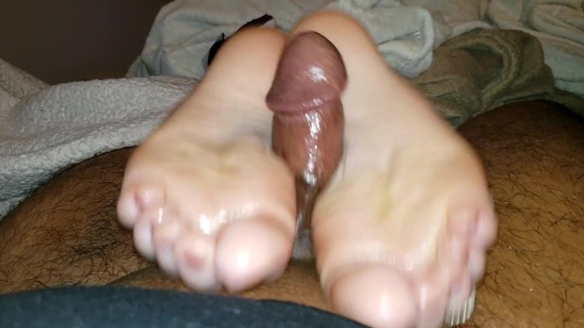 LAZY DAY WITH VICTORIA VALENTINE: OILY SOLEJOB AND HANDJOB - Full Movie 6