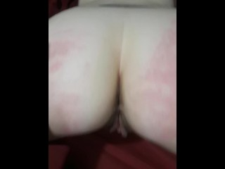 Turning my little white ass red