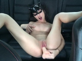 ( FULL VIDEO) CUTE TEEN MASTURBATING IN THE BACK OF THE CAR - MaryVincXXX