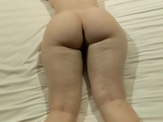 POV MASSAGE AND ANAL MAKES PAWG CUM
