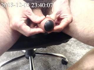 Docking a squash ball
