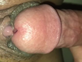 WHITE cock fucks wet LATINA TEEN