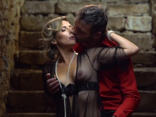 Emma Klein gives in to lust in the wine cellar - The Gift sc. 4