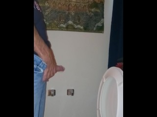 Taking a piss