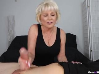 Granny pov handjob...