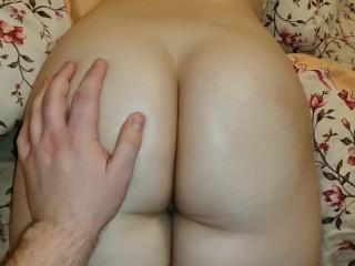 Light spanking for big ass