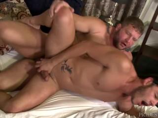 PrideStudios Hairy Jock Gets Versatile w/ Cute Latino Boyfriend