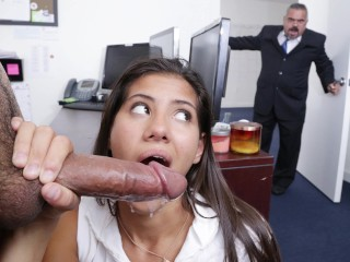 DON'T FUCK MY DAUGHTER - My Boss's Teenage Progeny Victoria Valencia Is Hot