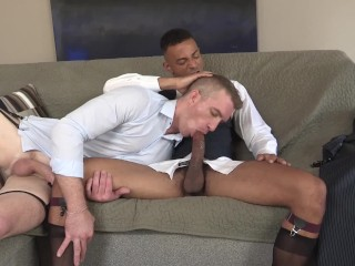 Get his straight friend to suck on their...
