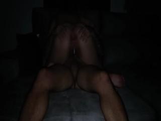 I ride his cock until he cum inside me