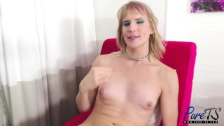 BTS interview with trans starlet River Enza