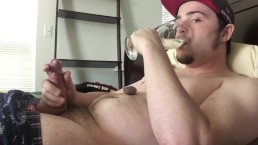 Continuous Orgasm Control while Drinking & Eating My Loads! Male Cumslut