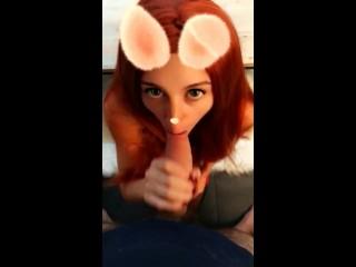 Je pilonne une lapine sexy sur snapchat