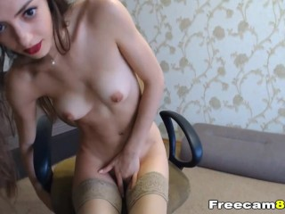 Hot Sexy Chick show off and Fuck Herself