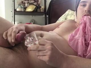 Vodka & Cum Shot! Semenology CEI from Choke_Angel on Chaturbate