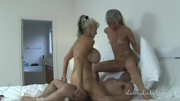 Personal Trainer - Milfs Seduce Young Man