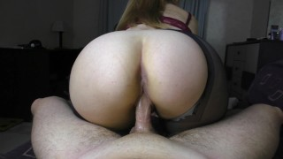 Teen Big Ass PussyJob Pantyhose