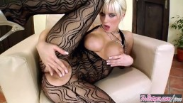 Twistys - Busty blonde Cindy Dollar plays with her pussy